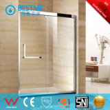 Templado que resbala baño de ducha de vidrio de la puerta de China (BL-F3008)