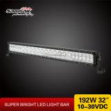 32 '' 192W barra ligera campo a través impermeable del poder más elevado 4X4 LED