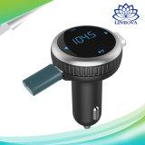 Il kit dell'automobile di Bluetooth con il trasmettitore 2.1A di FM si raddoppia giocatore di musica del MP3 del caricatore dell'automobile del USB