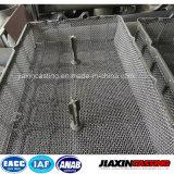 Trattamento termico del pezzo fuso di investimento che impila i cestini per la fornace