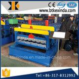 Maquinaria esmaltada metal de la formación de hoja de azotea de azulejo de Kxd 1100