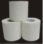 Tissu en gros de roulis de papier de toilette de Pape de toilette