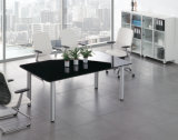 Mobilier de bureau moderne Glass Boss Executive Office Table
