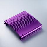 Soem Aluminium Alloy für Audio Enclosure mit CNC Machining