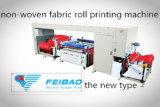 Rullo automatico per rotolare la stampatrice non tessuta dello schermo di colore del tessuto uno
