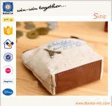 Monedero impreso lona de encargo de la moneda de las señoras de la manera de la fábrica mini