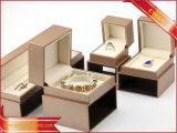 Черная коробка упаковки подарка коробки кольца коробки ювелирных изделий бумажная