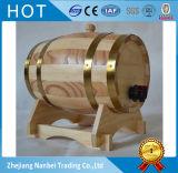 Barriles de vino de madera barnizados insignia de encargo para 3L 5 L 10L