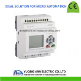 Pr-12DC-Da-Tn com LCD, sem o controlador programável da lógica do cabo, relé esperto, micro controlador do PLC, Ce