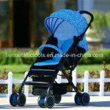 Vouwbaar met de Kinderwagen van de Baby van Wielen Rotable