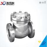 Válvula de verificação de aço do balanço do API 6D Casted do fabricante