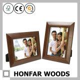 Frame de retrato de madeira preto com a esteira para o quarto de convidado do hotel