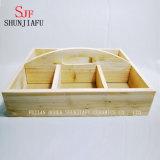 Плантаторы творческого деревянного плантатора малые деревянные для суккулентного завода