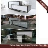 (HX-5N075) Forniture di ufficio di legno di MFC della Tabella del contatore di ricezione dell'ufficio di Winge