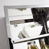Gabinete elevado de Uint do armazenamento da cozinha do aço inoxidável com a prateleira cinco interna