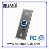 접촉 유형 아크릴 플라스틱 Gnd NC COM 표면에 의하여 거치되는 출구 단추 없음 (SB40TW)