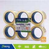6 Rolls plat rétrécir avec l'étiquette BOPP ruban d'emballage
