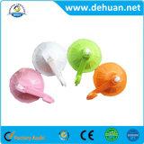 Copo de sucção de PVC resistente colorido com gancho