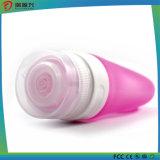 2016 botella de embalaje cosmético con la ventosa de silicona para viajar
