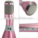 Беспроволочный микрофон Karaoke с микрофоном конденсатора диктора для миниого Karaoke