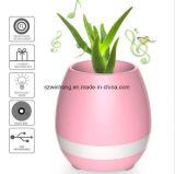 Heet verkoop de Slimme Bloempot van de Muziek van de Aanraking met Spreker Bluetooth