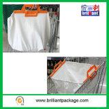 Mehrfachverwendbare faltbare Supermarkt-Laufkatze-Einkaufstasche