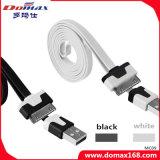 Teléfono móvil Fideos cable, para el iPhone 3G / 4G cable USB del teléfono