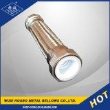 Boyau compliqué tressé flexible en métal de l'acier inoxydable PTFE de Yangbo