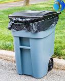 Saco de lixo plástico resistente forte do lixo