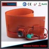 Calentador eléctrico del tambor de la venda de la resistencia del alambre de la aleación de níquel del silicón