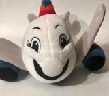 Het leuke Gevulde Stuk speelgoed van de Pluche van het Vliegtuig