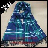 Bufanda aplicada con brocha diseñador de encargo tejida telar jacquar del invierno