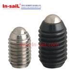 Verlegter Karosserien-Spulenkern mit Stahlkugel
