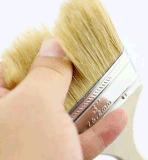 Cepillo de pintura puro de la cerda de la maneta de madera