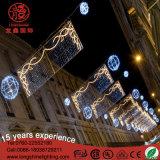 Straßen-Dekoration-Weihnachtslicht des LED-weißes Engels-2m*1m für Verkauf