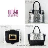Handbeutel Croco der Marken-Art-Dame-PU lederne Handtaschen (LY060274)