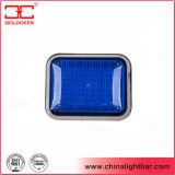 Luz de advertência azul do diodo emissor de luz da lâmpada de sinal da montagem de superfície (LED-134-a)