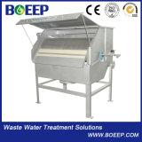 De Filter van de roterende Trommel in de Behandeling van het Afvalwater van de Sector van het Voedsel