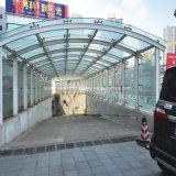 Netter Entwurfs-Stahlrahmen-Autoparkplatz-Kabinendach-Schutz mit bester Qualität