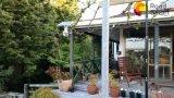 운동 측정기를 가진 통합 LED 태양 정원 벽 공원 점화