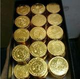Bedeckung-u. Knurling-Maschine für Münzen-Schokolade