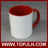 Чашки фарфора пробела печатание сублимации конструкции Customed цветастые