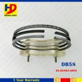 Hierro fundido dB58 Anillo de pistón del motor para Daewoo Doosan Excavator Kit (65.02503-8058)