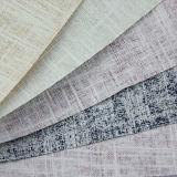 Couro sintético tecido cinco cores elegante do PVC para a mobília