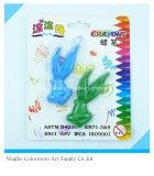 30g lápices de colores plásticos 2PCS 3D para estudiantes y niños