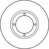 Rotor de frein à disque d'accessoires de véhicule de bâti de fer