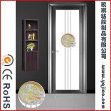 さまざまなパターン非接着剤のホームドアのための取り外し可能で静的で装飾的なガラスフィルム