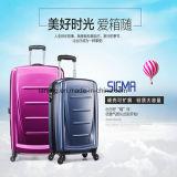 O saco /Luggage da bagagem do trole da bagagem do curso do projeto ABS+PC da forma estendeu