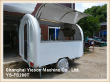 Ys-Fb200t de Multifunctionele Aanhangwagen van de Keuken van de Vrachtwagen van het Voedsel Trailer Food Van Trailer Mobile