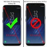Hard Duidelijke Rugdekking met het Flexibele Geval van de Dekking van de Telefoon van Bumpers TPU Slanke Geschikte voor de Melkweg van Samsung S8